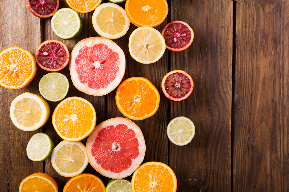 Healthy Tasty Citrus Fruits